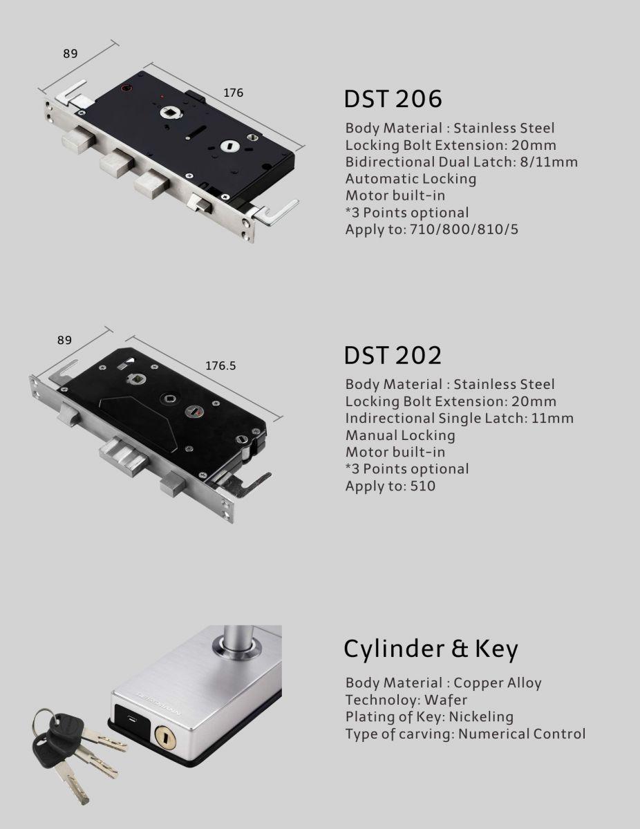 Khóa điện tử Dessmann A800