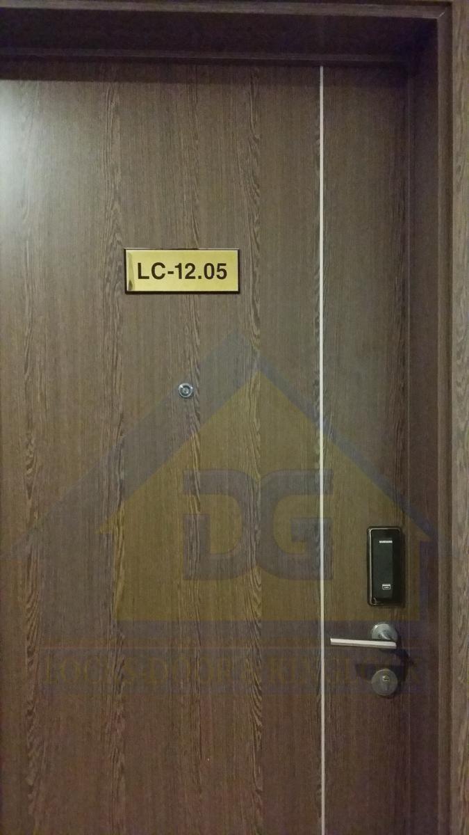 Novaland, ICON-56, Bến vân đồn, Q.4, Tp. HCM, Lắp khóa điện tử Samsung SHS-H505