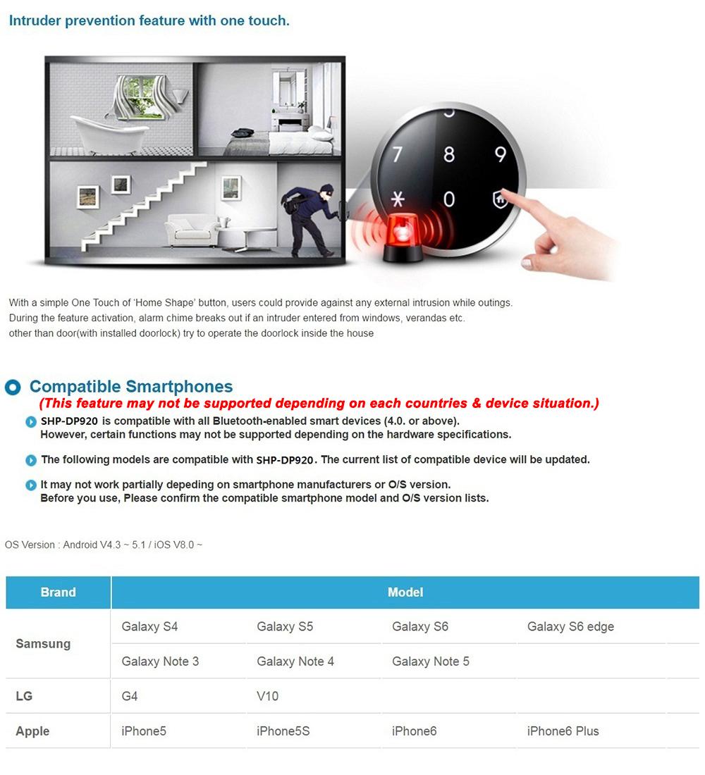 Khóa vân tay Samsung SHS-DP728
