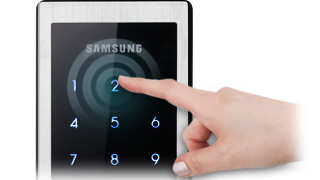 Touch Screen with Luxurious Design: With a metallic, high-quality black touch screen, the key pad cover can be utilized easily without having to open it.