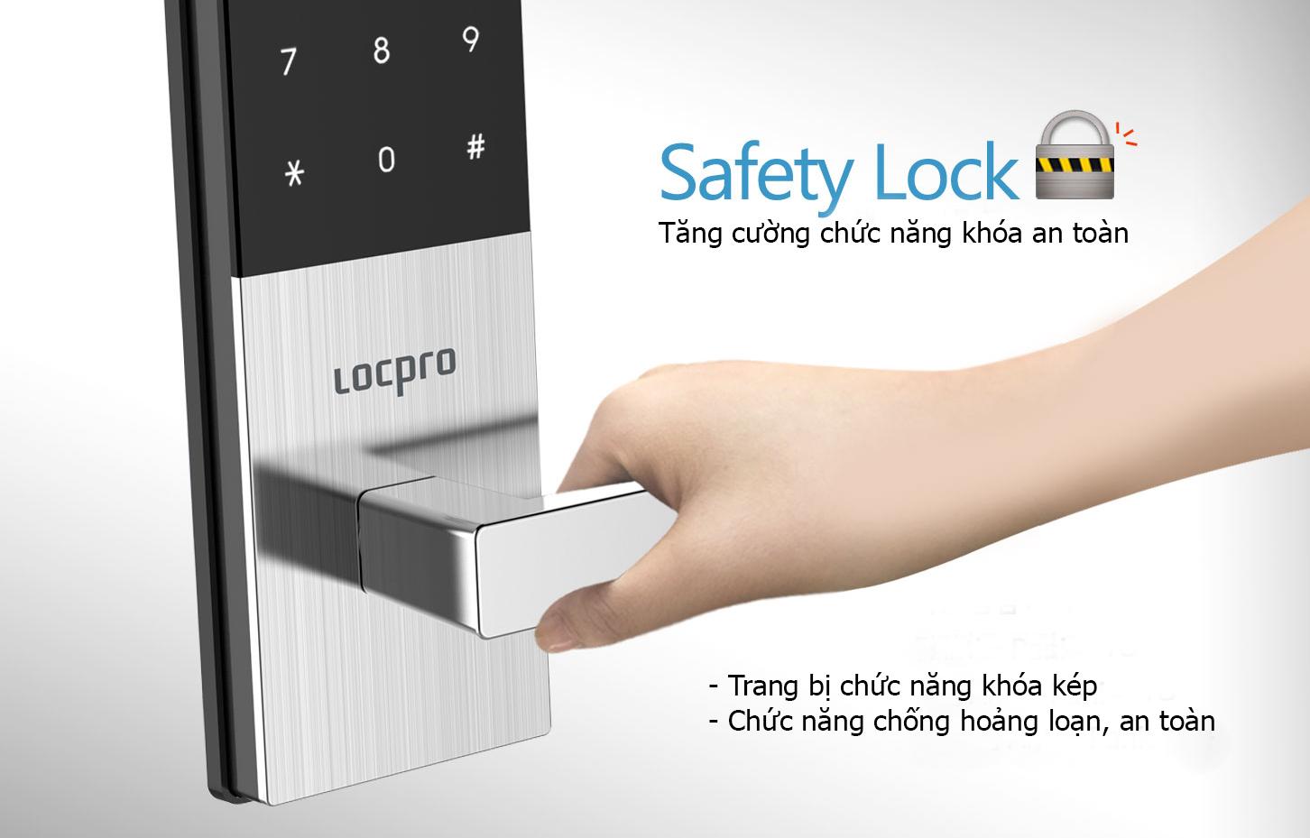 Dòng khóa cửa nhập khẩu tại Hàn QUốc được tin dùng - Locpro Việt nam