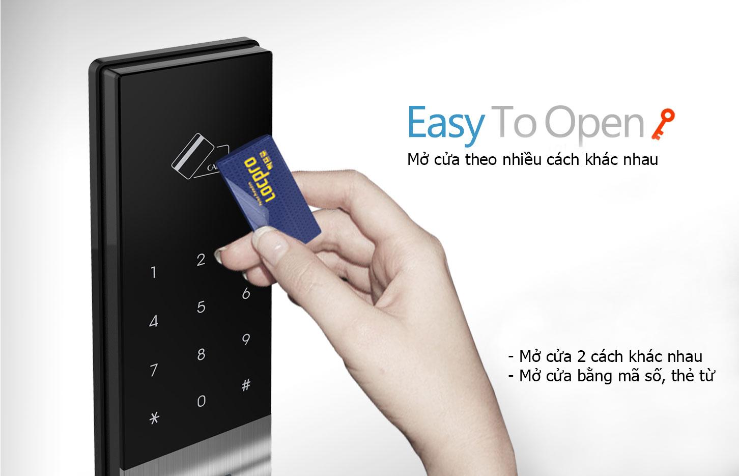 Khóa cửa sử dụng thẻ từ có an toàn không?