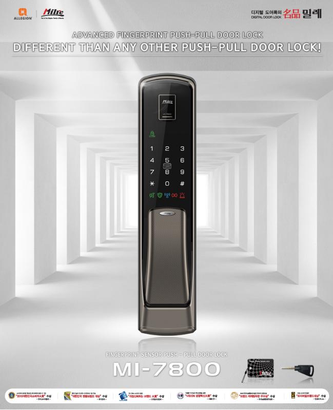 Khóa vân tay MILRE MI-7800