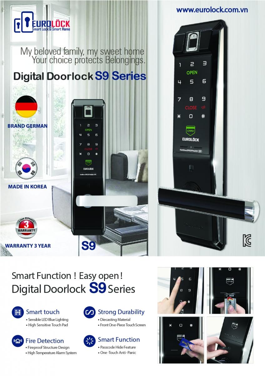 3 lý do bạn nên sử dụng khóa điện tử EUROLOCK S9