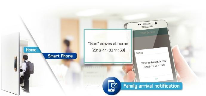 Những tiện ích mà khóa điện tử Samsung đem lại cho người sử dụng