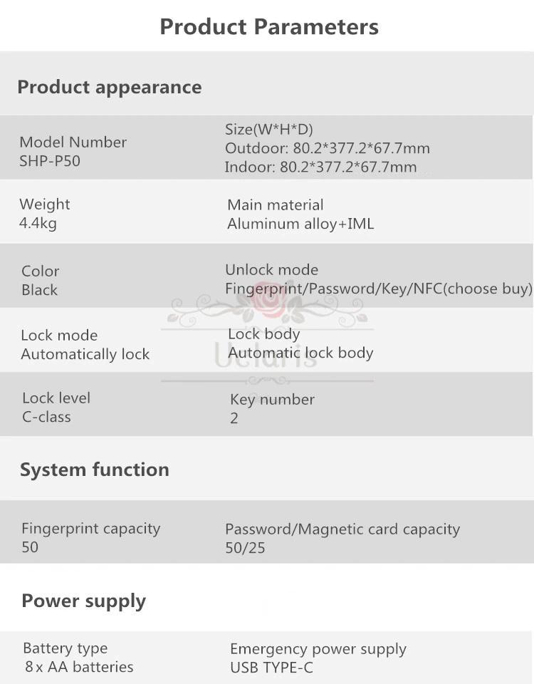 Khóa cửa vân tay Samsung SHP-P50