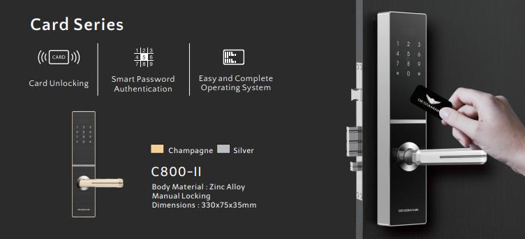 Khóa điện tử Dessmann C800-II