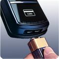 9V pin back-up: Trong trường hợp hết pin, cánh cửa có thể mở được từ bên ngoài bằng cách sử dụng một pin 9V.