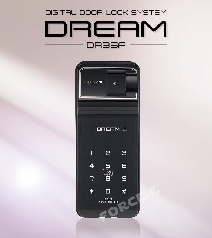 Khóa vân tay cửa kính EVERNET DREAM DR35FGC-S