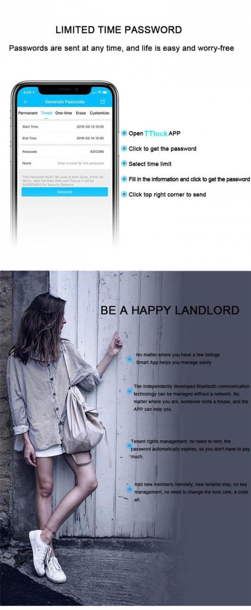 Khóa điện tử Airbnb eurolock EL7200-AG