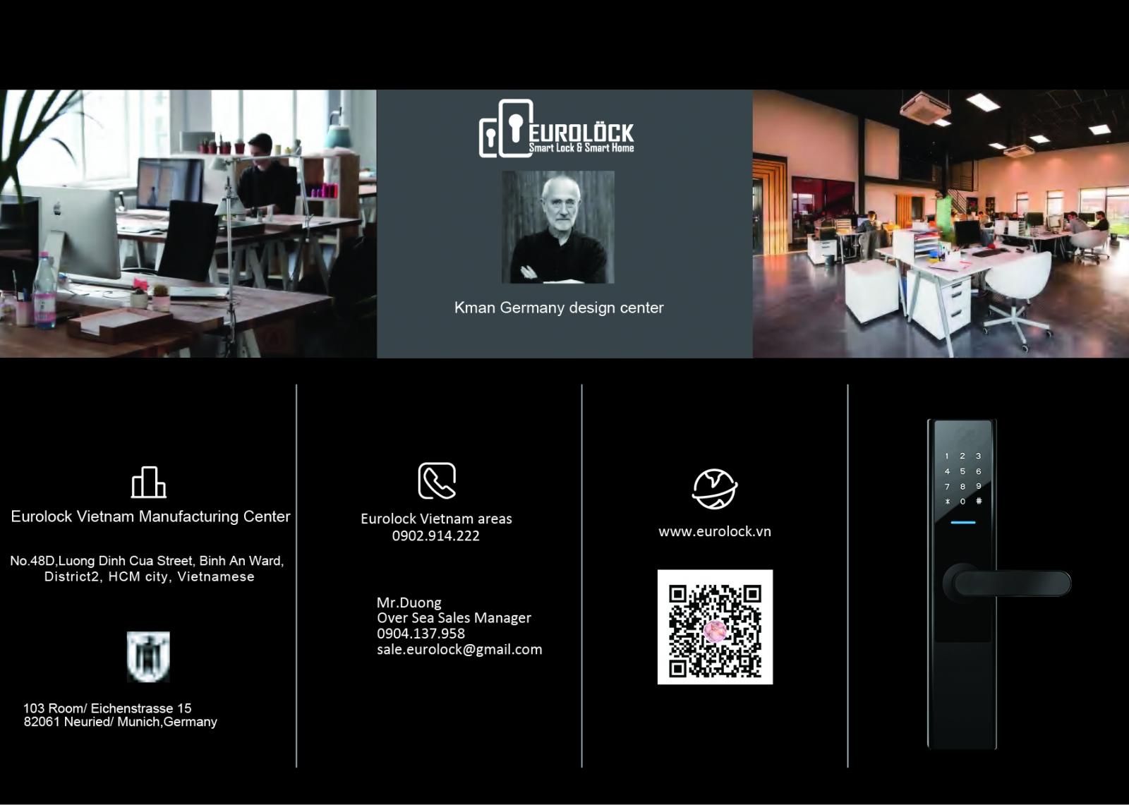 Giới thiệu về thương hiệu khóa điện tử Eurolock