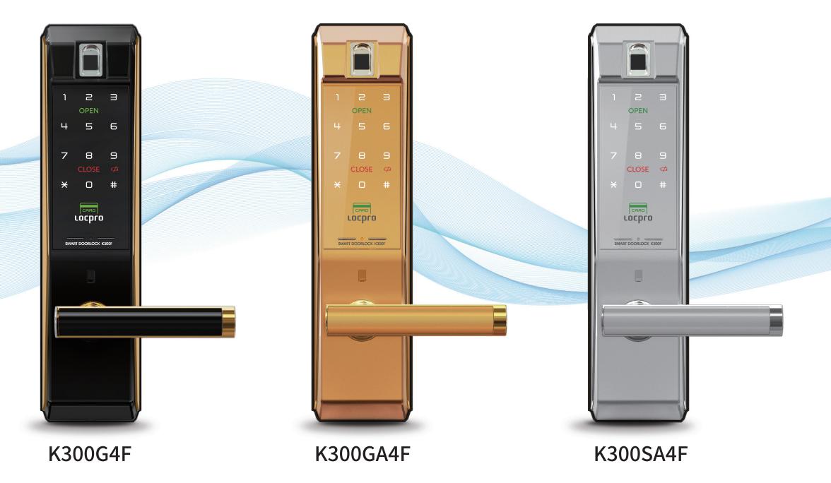 Khóa cửa vân tay Locpro K300CG4F