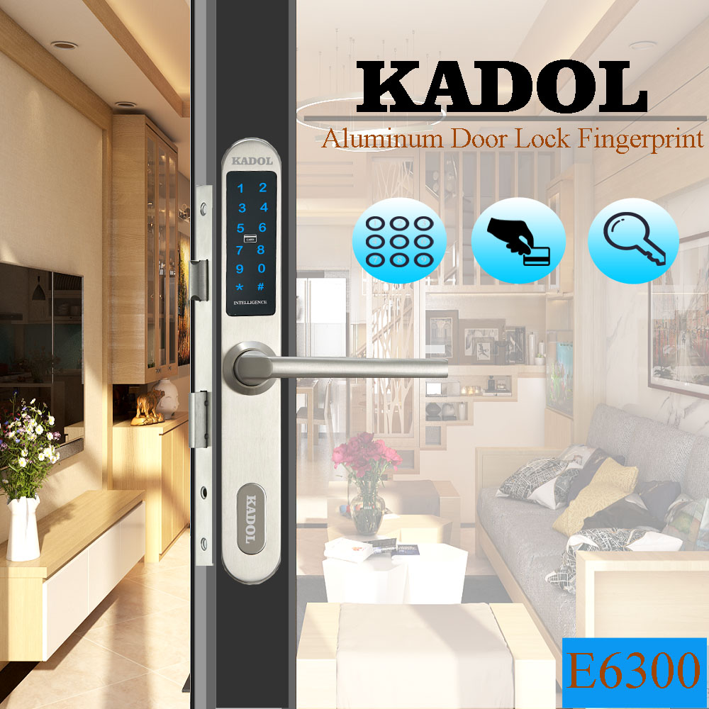 Khóa vân tay cửa nhôm Kadol E6300