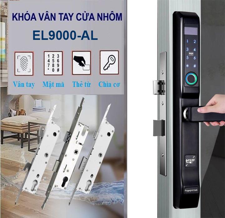 Khóa vân tay cửa nhôm EUROCK EL9000-AL