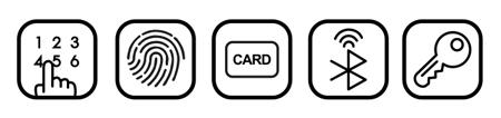 Khóa điện tử Locpro M120N Mobile Version (App)