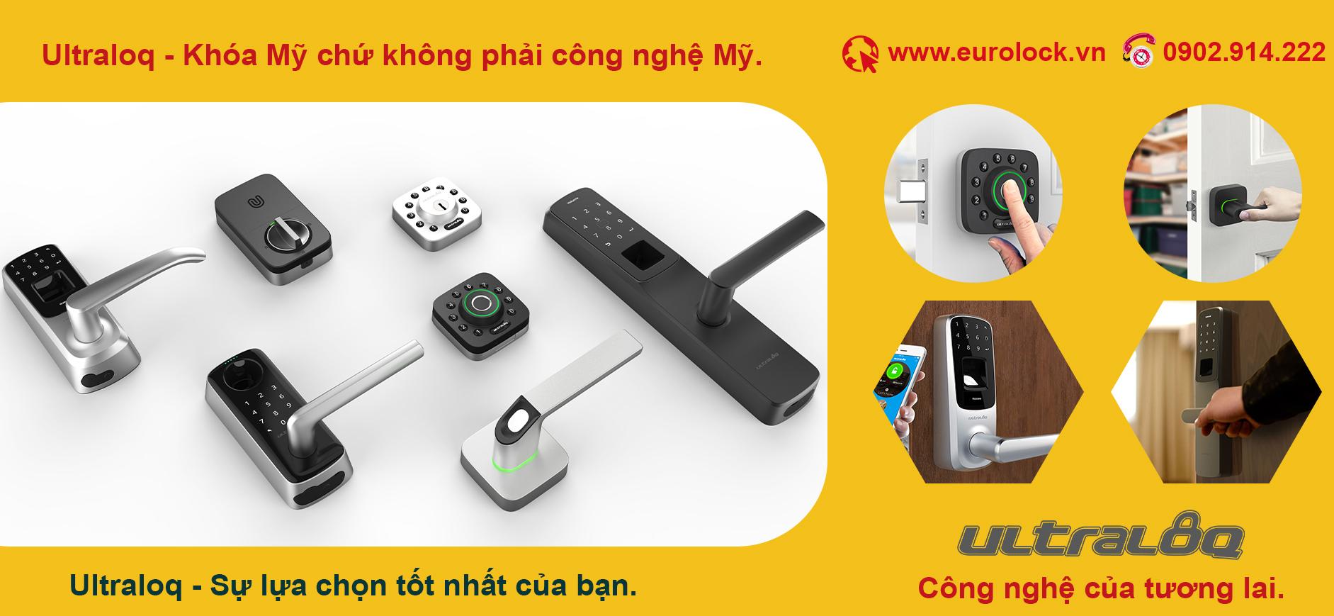 Phân phối độc quyền khóa điện tử mở từ xa bằng wifi ULTRALOQ tại Việt nam