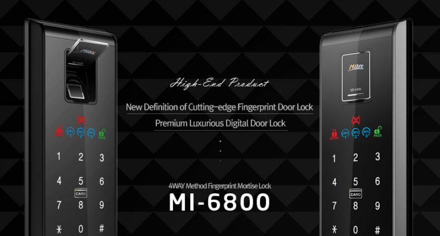 Khóa vân tay MILRE MI-6800