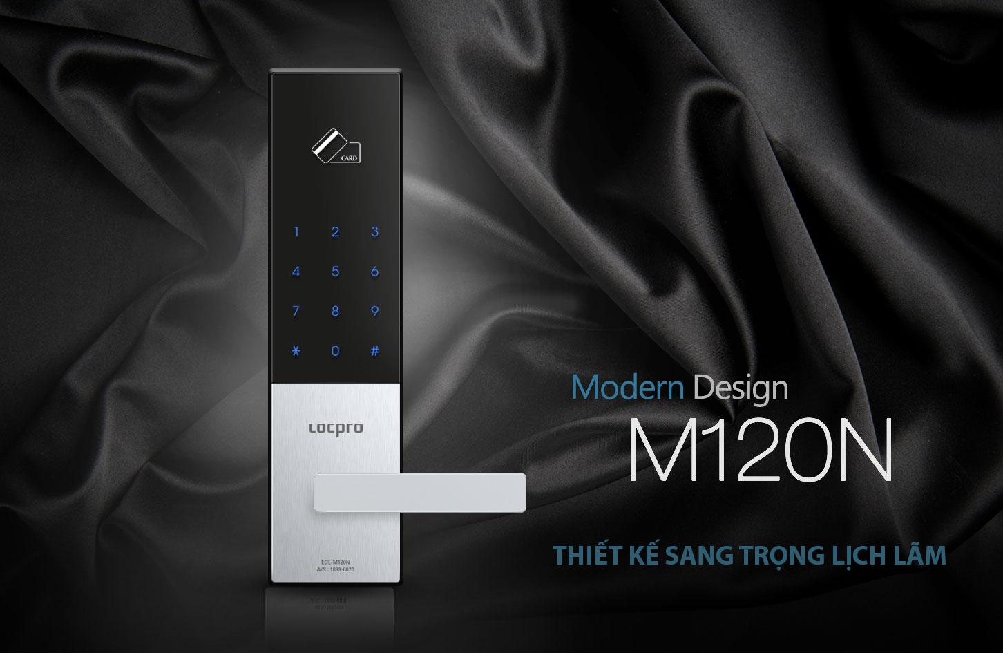 Khóa cửa thẻ từ Locpro M120N3
