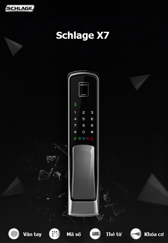 Khóa điện tử Schlage X7