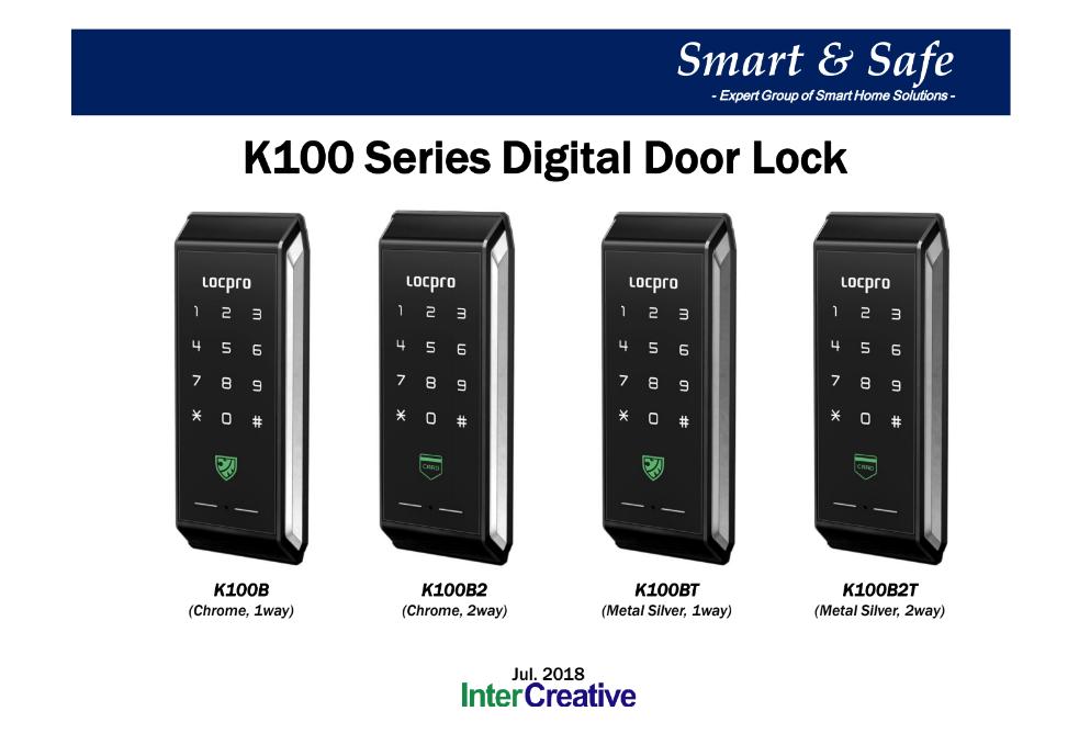 Khóa cửa thẻ từ Locpro K100