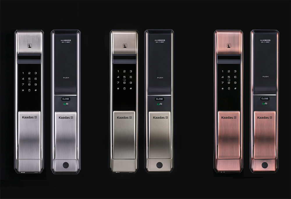 3 loại khóa vân tay lắp đặt cho tất cả các loại cửa