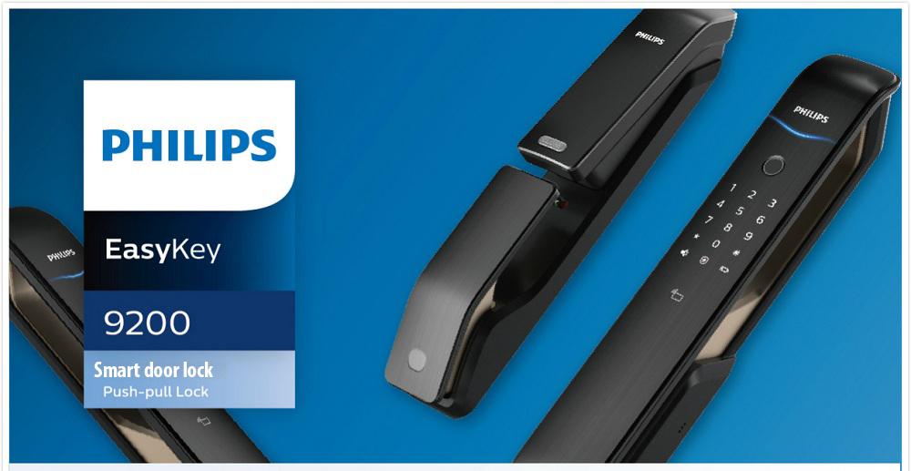 Khóa vân tay Philips Easykey 9200