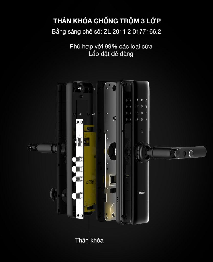 Khóa vân tay Kaadas S8