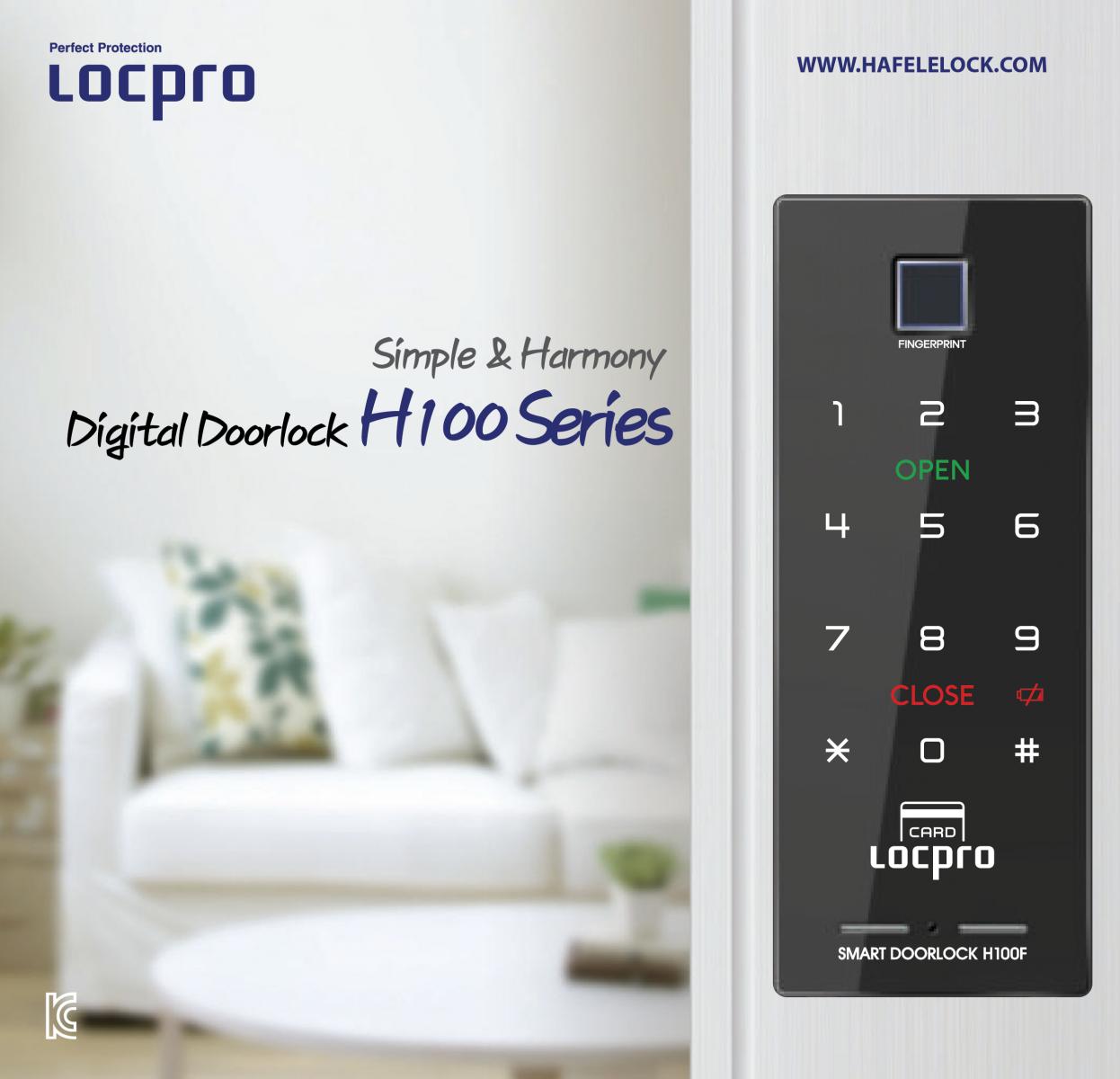 Khóa vân tay Locpro H100F