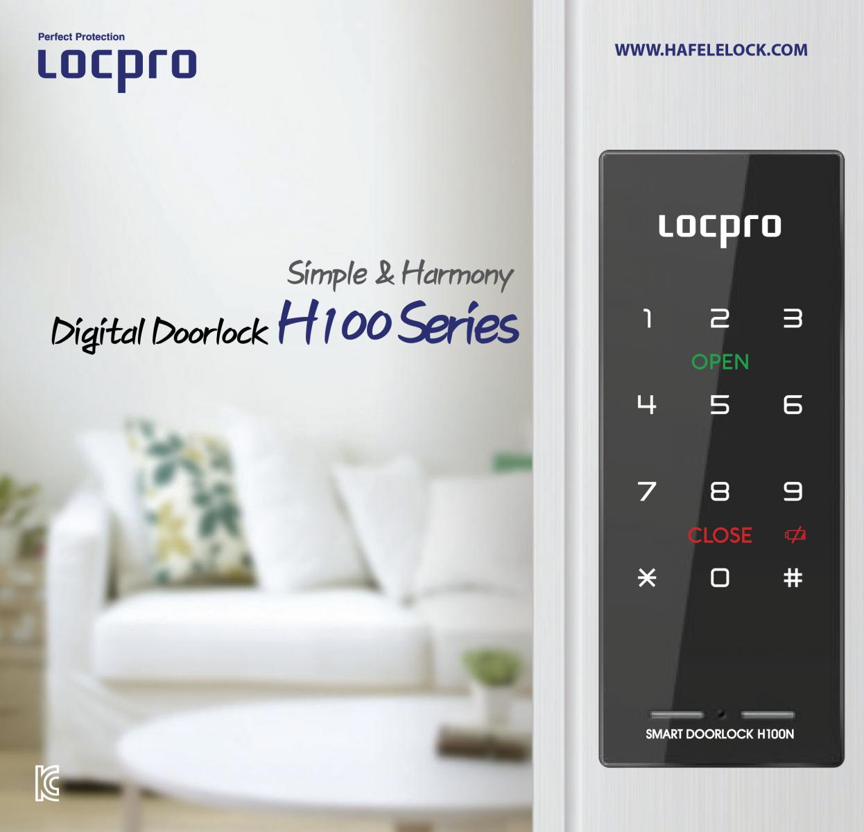 Khóa mã số Locpro  H100N