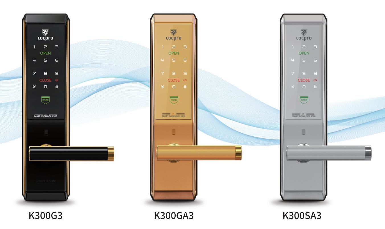 Khóa cửa thẻ từ Locpro K300CG3