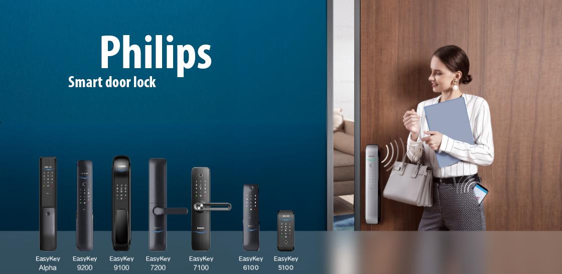 Thương hiệu khóa điện tử Philips của nước nào? Ưu điểm của khoá vân tay Philips