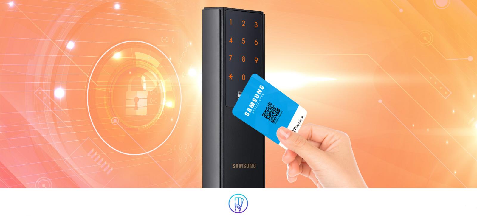 Khóa thẻ từ Samsung SHP-DH537