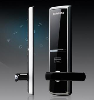 Hiện đại, Slim, Đen & Bạc Thiết kế: Với một kim loại mỏng và thiết kế màu đen, vỏ cho các Door Lock một cái nhìn ergonomic hiện đại và tinh vi.