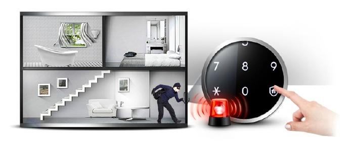 Khóa điện tử Samsung SHS-DP808