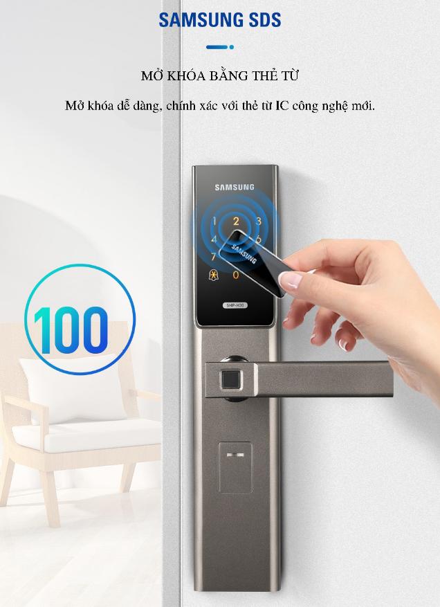 Khóa cửa vân tay Samsung SHP-H30