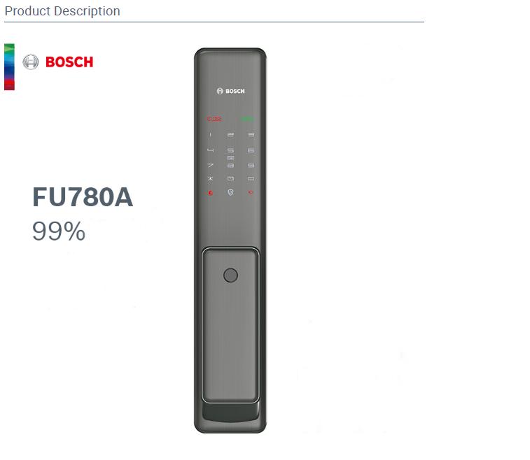 Khóa vân tay BOSCH FU 780A