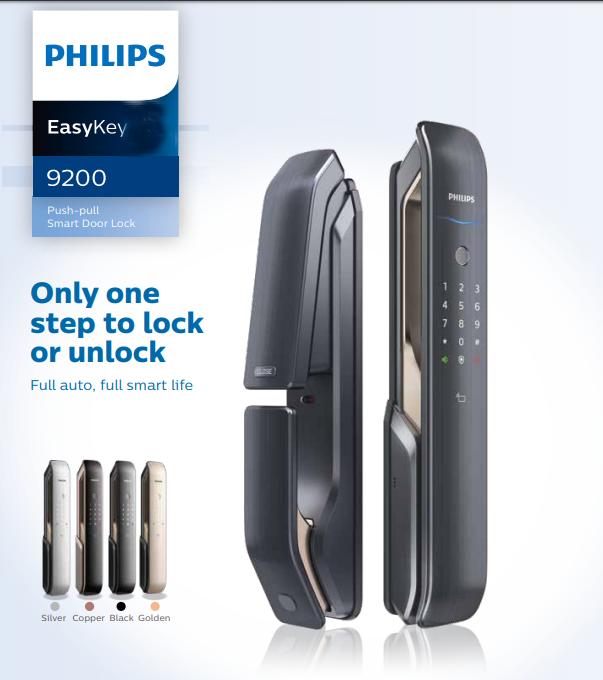 Phân phối độc quyền khóa điện tử Philips tại Việt nam