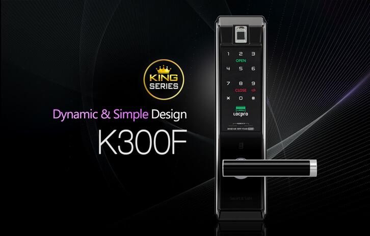 Khóa cửa vân tay Locpro K300F