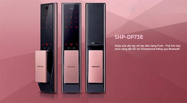 Khóa cửa vân tay Samsung SHP-DP738