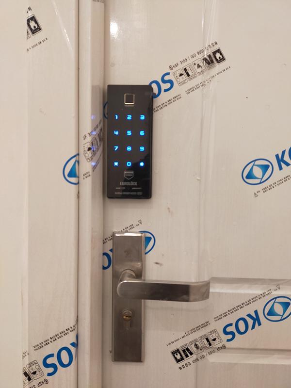 Quy trình lắp đặt khóa cửa điện tử